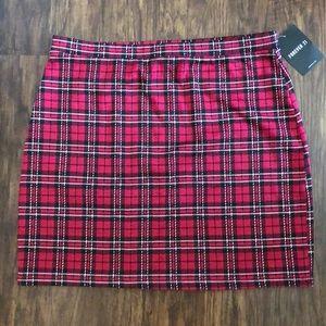 NWT Forever 21 plaid skirt